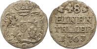 1/48 Taler 1763  C Sachsen-Albertinische Linie Friedrich August II. 173... 9,00 EUR  zzgl. 4,00 EUR Versand