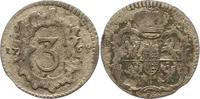 3 Pfennig / Dreier 1763 Sachsen-Albertinische Linie Friedrich August II... 45,00 EUR  zzgl. 4,00 EUR Versand