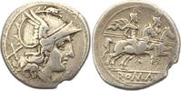 Denar 225 - 206  v. Chr. Republik Anonyme Silbermünzen 225 - 206 v. Chr... 185,00 EUR  zzgl. 4,00 EUR Versand