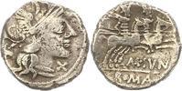 Denar  Republik M. Iunius Silanus 145 v. Chr.. Minimal gewellt, sehr sc... 85,00 EUR  zzgl. 4,00 EUR Versand
