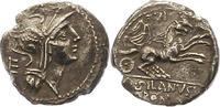 Denar  Republik D. Iunius Silanus 91 v. Chr.. Schöne Patina. Schrötling... 225,00 EUR  zzgl. 4,00 EUR Versand