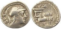 Denar  Republik L.Rubrius Dossenus 87 v.. Schön  95,00 EUR  zzgl. 4,00 EUR Versand