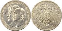 3 Mark 1914  A Anhalt Friedrich II. 1904-1918. Winz. Randfehler, gering... 66,00 EUR  zzgl. 4,00 EUR Versand