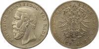 5 Mark 1876  G Baden Friedrich I. 1856-1907. Schön - sehr schön  42,00 EUR  zzgl. 4,00 EUR Versand