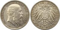 2 Mark 1907 Baden Friedrich I. 1856-1907. Vorzüglich  70,00 EUR  zzgl. 4,00 EUR Versand
