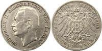 3 Mark 1909  G Baden Friedrich II. 1907-1918. Sehr schön  18,00 EUR  zzgl. 4,00 EUR Versand