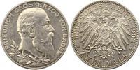 2 Mark 1902 Baden Friedrich I. 1856-1907. Vorzüglich  27,00 EUR  zzgl. 4,00 EUR Versand