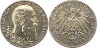 5 Mark 1902 Baden Friedrich I. 1856-1907. Leicht gereinigt, vorzüglich  165,00 EUR  zzgl. 4,00 EUR Versand