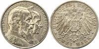 2 Mark 1906 Baden Friedrich I. 1856-1907. Fast vorzüglich  28,00 EUR  zzgl. 4,00 EUR Versand