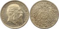 2 Mark 1907 Baden Friedrich I. 1856-1907. Fast Stempelglanz  75,00 EUR  zzgl. 4,00 EUR Versand