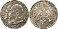 2 Mark 1904 Hessen Ernst Ludwig 1892-1918. Winz. Kratzer, vorzüglich  65,00 EUR  zzgl. 4,00 EUR Versand