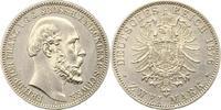 2 Mark 1876  A Mecklenburg-Schwerin Friedrich Franz II. 1842-1883. Leic... 975,00 EUR kostenloser Versand