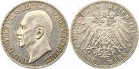 3 Mark 1913  A Mecklenburg-Strelitz Adolf Friedrich V. 1904-1914. Winz.... 1650,00 EUR kostenloser Versand