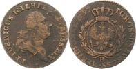 Cu Groschen 1797  B Brandenburg-Preußen Friedrich Wilhelm II. 1786-1797... 9,00 EUR  zzgl. 4,00 EUR Versand