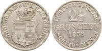 2 1/2 Groschen 1858  B Oldenburg Nicolaus Friedrich Peter 1853-1900. Vo... 25,00 EUR  zzgl. 4,00 EUR Versand