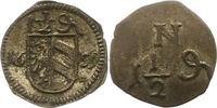 1 1/2 Pfennig 1659 Nürnberg-Stadt  Vorzüglich  125,00 EUR  zzgl. 4,00 EUR Versand