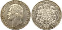 Taler 1861 Sachsen-Albertinische Linie Johann 1854-1873. Randfehler, se... 65,00 EUR  zzgl. 4,00 EUR Versand