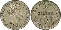 1/2 Silbergroschen 1837  A Brandenburg-Preußen Friedrich Wilhelm III. 1... 75,00 EUR  zzgl. 4,00 EUR Versand