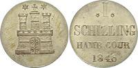 Schilling 1846 Hamburg, Stadt  Stempelglanz  145,00 EUR  zzgl. 4,00 EUR Versand