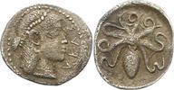 AR Litra 466 - 413 v. Chr Sicilia unbek. Herrscher 5. Jrh. v. Chr.. Etw... 150,00 EUR  zzgl. 4,00 EUR Versand