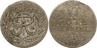 6 Gute Pfennig 1706  BH Brandenburg-Preußen Friedrich I. 1701-1713. Sch... 42,00 EUR  zzgl. 4,00 EUR Versand