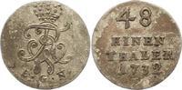 1/48 Taler 1732 Brandenburg-Preußen Friedrich Wilhelm I. 1713-1740. Seh... 42,00 EUR  zzgl. 4,00 EUR Versand
