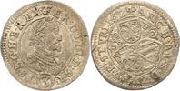 3 Kreuzer 1624 Haus Habsburg Ferdinand II. 1619-1637. Sehr schön  20,00 EUR  zzgl. 4,00 EUR Versand