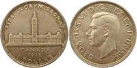Dollar 1939 Kanada  Vorzüglich - Stempelglanz  25,00 EUR  zzgl. 4,00 EUR Versand