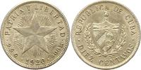 10 Centavos 1920 Cuba Republik 1902-1962. Vorzüglich  15,00 EUR  zzgl. 4,00 EUR Versand