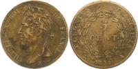 5 Centimes 1825  A Frankreich-Französische Kolonien  Sehr schön +  38,00 EUR  zzgl. 4,00 EUR Versand