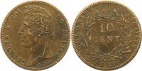 10 Centimes 1829  A Frankreich-Französische Kolonien  Fast vorzüglich  75,00 EUR  zzgl. 4,00 EUR Versand