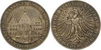 Taler 1863 Frankfurt-Stadt  Winz. Kratzer, vorzüglich  225,00 EUR  zzgl. 4,00 EUR Versand