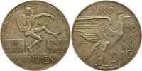 Silbermedaille 1906 Bayern-München, Stadt  Mattiert. Vorzüglich +  75,00 EUR  zzgl. 4,00 EUR Versand