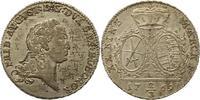 2/3 Taler 1769 Sachsen-Albertinische Linie Friedrich August III. 1763-1... 325,00 EUR kostenloser Versand