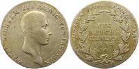 Taler 1814  A Brandenburg-Preußen Friedrich Wilhelm III. 1797-1840. Seh... 75,00 EUR  zzgl. 4,00 EUR Versand