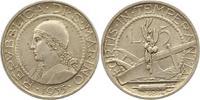 5 Lire 1935 San Marino  Vorzüglich  30,00 EUR  zzgl. 4,00 EUR Versand