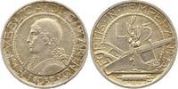 5 Lire 1937 San Marino  Fast vorzüglich  20,00 EUR  zzgl. 4,00 EUR Versand