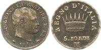 5 Soldi 1811  M Italien-Königreich (unter Napoleon) Napoleon I. 1804-18... 12,00 EUR  zzgl. 4,00 EUR Versand