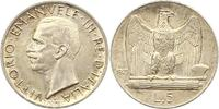 5 Lire 1929  R Italien-Königreich Vittorio Emanuele III. 1900-1946. Fas... 22,00 EUR  zzgl. 4,00 EUR Versand
