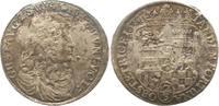 Gulden 1676 Sayn-Wittgenstein-Hohenstein Gustav 1657-1701. Sehr schön  165,00 EUR  zzgl. 4,00 EUR Versand