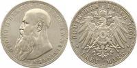 3 Mark 1908  D Sachsen-Meiningen Georg II. 1866-1914. Sehr schön  160,00 EUR  zzgl. 4,00 EUR Versand