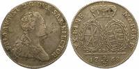 2/3 Taler 1768 Sachsen-Albertinische Linie Friedrich August III. 1763-1... 64,00 EUR  zzgl. 4,00 EUR Versand