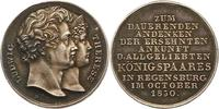 Silbermedaille 1830 Bayern Ludwig I. 1825-1848. Schöne Patina. Vorzügli... 95,00 EUR  zzgl. 4,00 EUR Versand