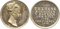 Silberne Miniaturmedaille 1810 Bayern Maximilian I. Joseph 1806-1825. V... 75,00 EUR  zzgl. 4,00 EUR Versand