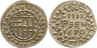 4 Pfennig 1670 Trier-Erzbistum Carl Caspar von der Leyen 1652-1676. Seh... 22,00 EUR  zzgl. 4,00 EUR Versand