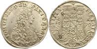2/3 Taler 1690 Sachsen-Eisenach Johann Georg II. 1686-1698. Gereinigtes... 695,00 EUR kostenloser Versand