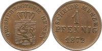 Pfennig 1872 Hessen-Darmstadt Ludwig III. 1848-1877. Vorzüglich - Stemp... 20,00 EUR  zzgl. 4,00 EUR Versand