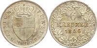 6 Kreuzer 1846 Hohenzollern-Sigmaringen Karl 1831-1848. Minimale Reste ... 75,00 EUR  zzgl. 4,00 EUR Versand