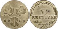 6 Kreuzer 1805  H Haus Habsburg Franz II.(I.) 1792-1835. Vorzüglich - S... 95,00 EUR  zzgl. 4,00 EUR Versand