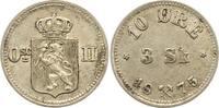 10 Öre zu 3 Skilling 1 1875 Norwegen Unter schwedischer Regierung 1814-... 175,00 EUR  zzgl. 4,00 EUR Versand